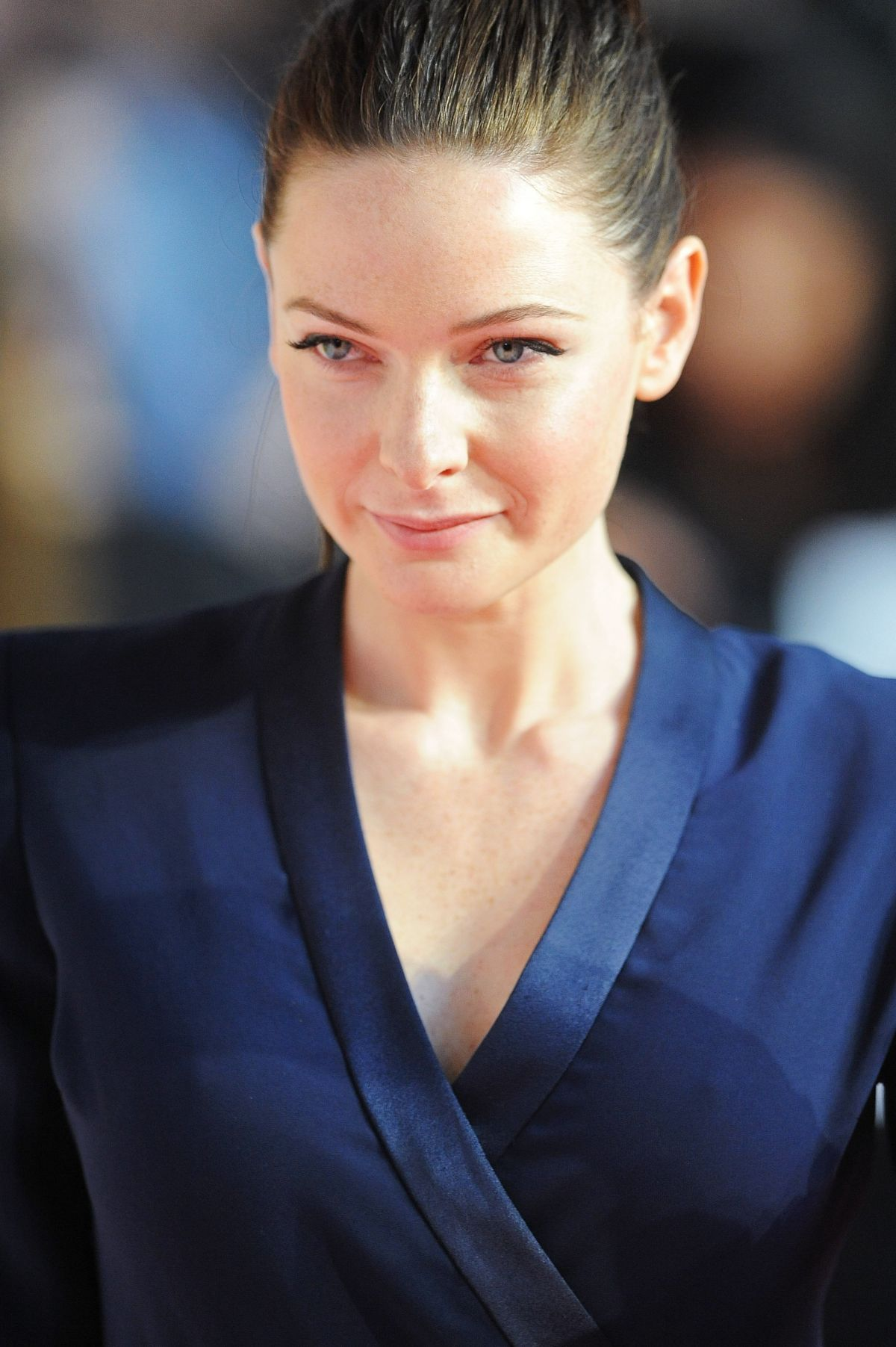 Rebecca Ferguson At Mission Impossible U2013 Rogue Nation Premiere In London