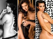 Kim Kardashian made headlines with her virtually nude images shot for