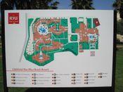 Lageplan Olivia Beach App.  Bild Hotel Riu Oliva Beach & Village