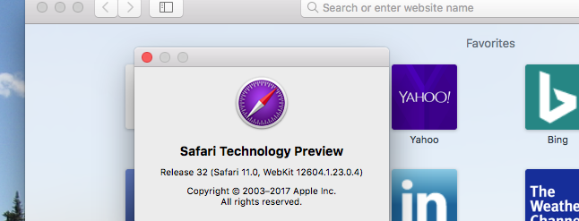 Try Out New Safari Features Early With Safari Technology Preview