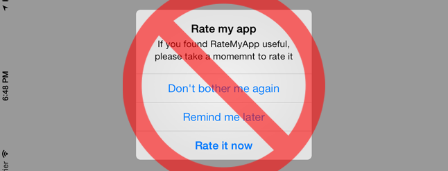 How to Stop iPhone and iPad Apps From Asking for Ratings