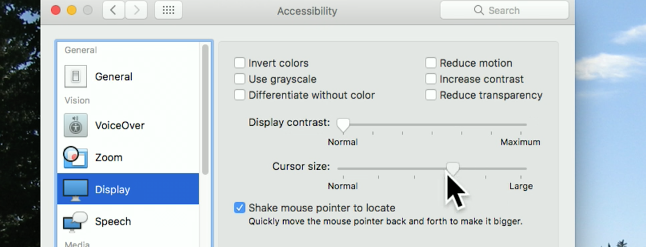 How to Make the Mouse Cursor Bigger or Smaller on Your Mac