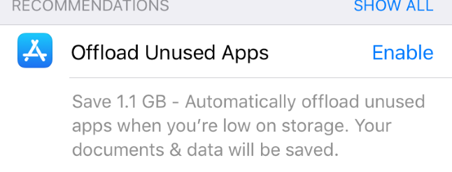 How to Free Up Space on Your iPhone or iPad by Offloading Unused Apps