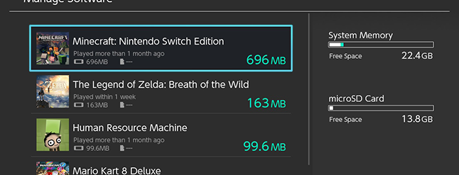 How to Free Up Space On Your Nintendo Switch's Internal Storage