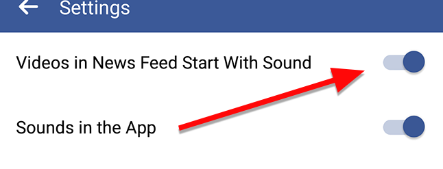 How to Stop Facebook Videos From Playing Sound Automatically