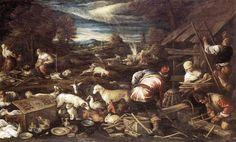 WebMuseum: Bassano, Jacopo: Noah's Sacrifice