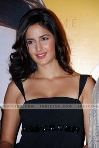 Katrina Kaif in a Black leather jacket