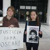 LA Coalition Demands Justice For Oscar Grant At Second Los Angeles