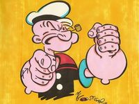 Molev : Self Portrait,  Image du puzzle Popeye, the Sailor Man