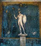 Statue of a nude soldier  Roman als Kunstdruck oder handgemaltes