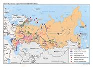 Russia and the Former Soviet Republics Maps  PerryCastañeda Map