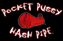 Pocket Pussy Hash Pipe  Logo