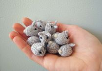 Mochimochi Land � Free Pattern: Tiny Baby Bunnies