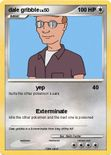 pok mon dale gribble 3 3 yep my pokemon card