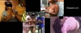 naked for stealing a blackberry phone another nigerian girl stripped