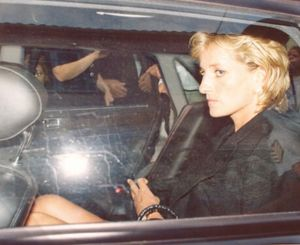 SICKENING photos of Princess Diana, taken moments after the car