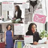NYC Lawyer Candice Cook In Elle | On Being A Black Lawyer
