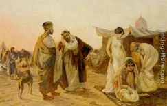 Otto Pilny The Slave Market Painting anysize 50% off
