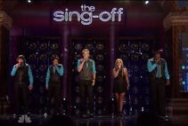 "Pentatonix wins NBC's Sing Off  We're singing the ""Afro Blues"
