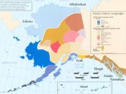 Alaska Native Language map. Source: Alaska Geographic Alliance.