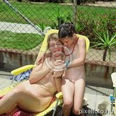 naked, stripped, young naturists, nudism, naturist family, to sun