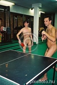 table tennis, pingpong, sportive, team, groups, unclothed, in a state