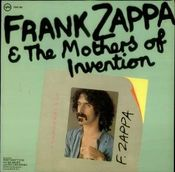 Frank Zappa & The Mothers Of Invention by ZAPPA, FRANK album cover