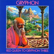 Red Queen To Gryphon Three by GRYPHON album cover