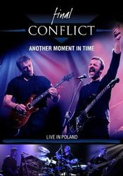 Another Moment In Time - Live In Poland (DVD) by FINAL CONFLICT album cover