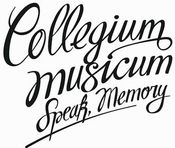 Speak, Memory (CD+DVD) by COLLEGIUM MUSICUM album cover