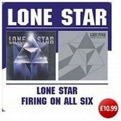 Lone Star/Firing On All Six by LONE STAR album cover