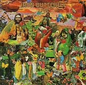 Live by IRON BUTTERFLY album cover