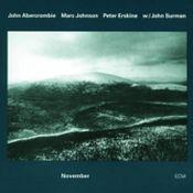 November by ABERCROMBIE, JOHN album cover