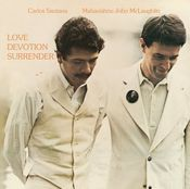 Love Devotion Surrender (with John McLaughlin) by SANTANA, CARLOS album cover
