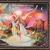 Illuminations (with Alice Coltrane) by SANTANA, CARLOS album cover