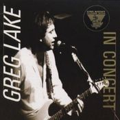King Biscuit Flower Hour Presents Greg Lake In Concert by LAKE, GREG album cover