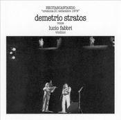 Recitarcantando (with Lucio Fabbri) by STRATOS, DEMETRIO album cover