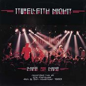 Live And Let Live  by TWELFTH NIGHT album cover