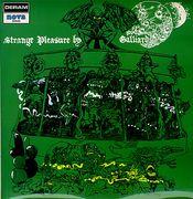 Strange Pleasure By Galliard by GALLIARD album cover