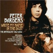 Write My Name In The Dust by BARDENS, PETER album cover