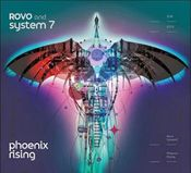 Phoenix Rising   (with System 7) by ROVO album cover