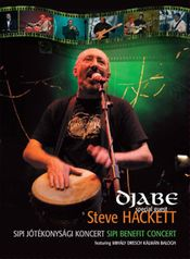 Sipi Benefit Concert (featuring Steve Hackett) (DVD) by DJABE album cover