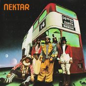 Down To Earth by NEKTAR album cover