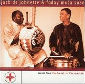 Music From The Hearts Of The Masters (with  Foday Musa Suso) by DEJOHNETTE,JACK album cover