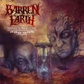 The Devil's Resolve by BARREN EARTH album cover