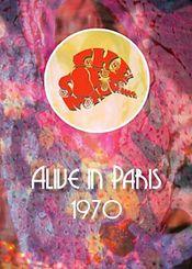 Alive in Paris-1970 by SOFT MACHINE, THE album cover