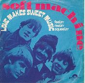 Love Makes Sweet Music by SOFT MACHINE, THE album cover