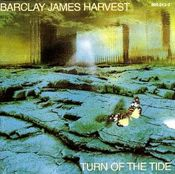 Turn Of The Tide by BARCLAY JAMES  HARVEST album cover