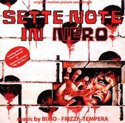 Sette note in nero [The Psychic] (with Bixio and Tempera) by FRIZZI, FABIO album cover