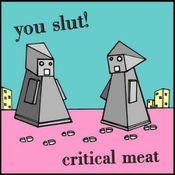 Critical Meat by YOU SLUT! album cover